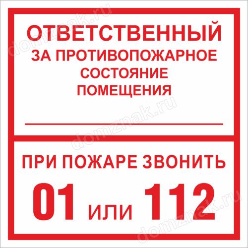 Требования к ответственному за пожарную безопасность на предприятии